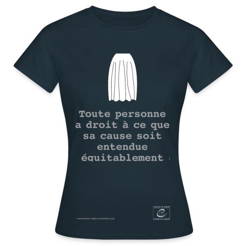 Droit à un procès équitable - T-shirt Femme