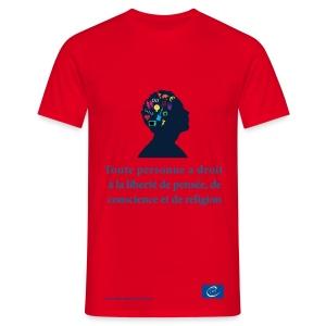 Droit à la liberté de pensée, de conscience et de religion - T-shirt Homme