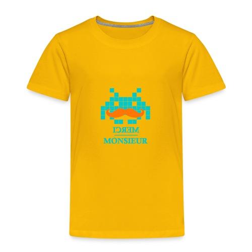 Monsieur est un geek #Hipster - T-shirt Premium Enfant