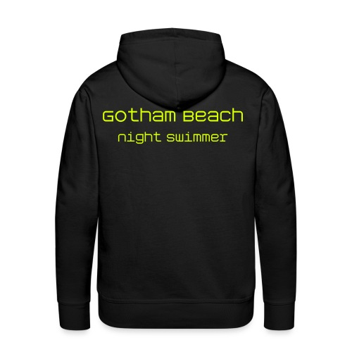 Gotham Beach Night Swimmer  - Männer Premium Hoodie