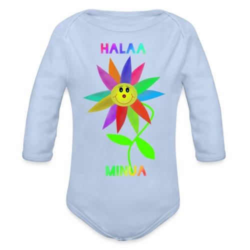 Halaa Minua - Vauvan pitkähihainen luomu-body