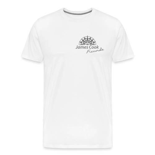 JCF Herren-Shirt (weiß) - Männer Premium T-Shirt