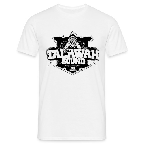 MEN T SHIRT TALAWAH SOUND LOGO WHITE - Männer T-Shirt