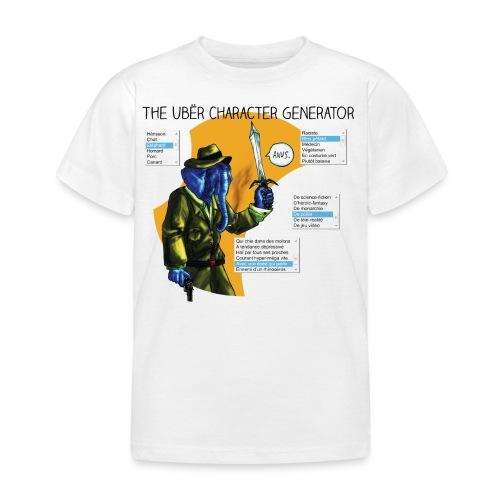 Le générateur de personnages - T-shirt Enfant