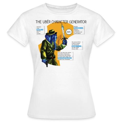 Le générateur de personnages - T-shirt Femme