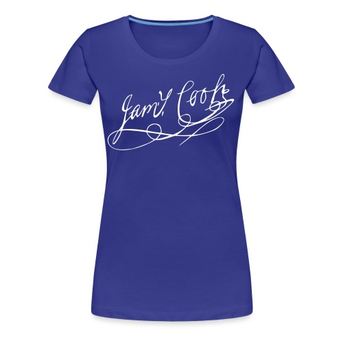JCF Damen Shirt Unterschrift James Cook II - Frauen Premium T-Shirt