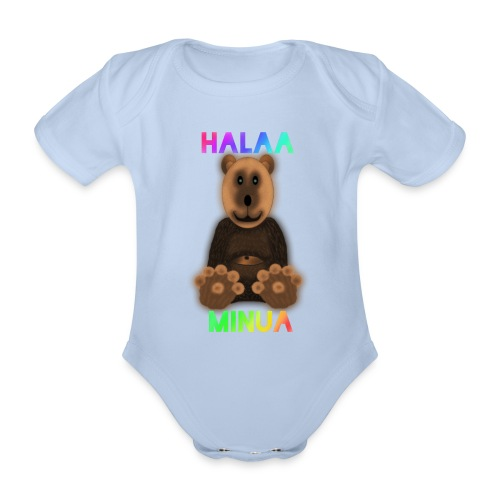 Halaa Minua - Vauvan lyhythihainen luomu-body