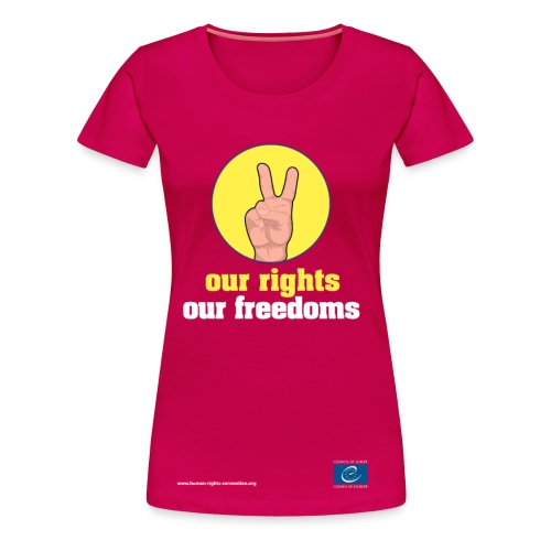 our rights, our freedoms - Women's Premium T-Shirt