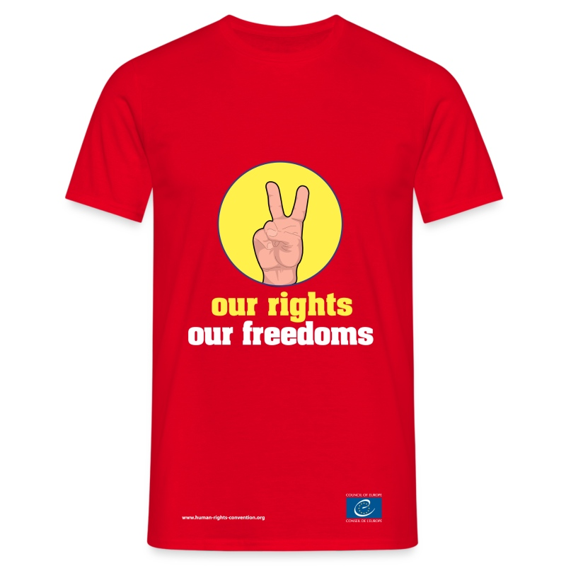 our rights, our freedoms - Men's T-Shirt