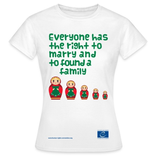 The right to marry - Women's T-Shirt