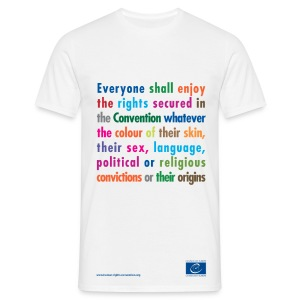 Prohibition of discrimination - Men's T-Shirt