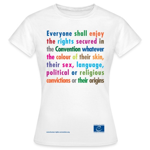 Prohibition of discrimination - Women's T-Shirt