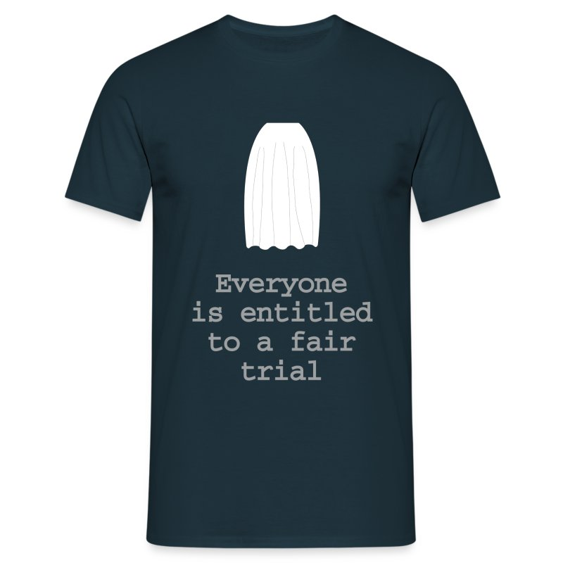 The right to a fair trial - Men's T-Shirt