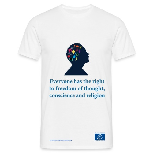 Freedom of thought, conscience and religion - Men's T-Shirt