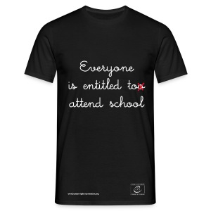 The right to education - Men's T-Shirt