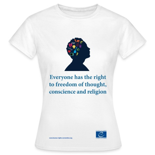 Freedom of thought, conscience and religion - Women's T-Shirt