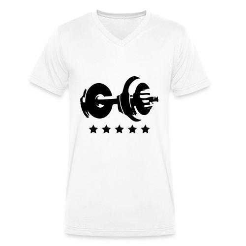 Train - Männer Bio-T-Shirt mit V-Ausschnitt von Stanley & Stella