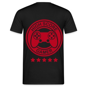 High Score Gamer  T-Shirt - Men's T-Shirt