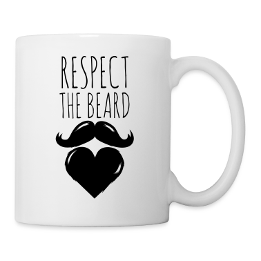 lustige liebe love bart vollbart moustache witze tasse spreadshirt. Black Bedroom Furniture Sets. Home Design Ideas