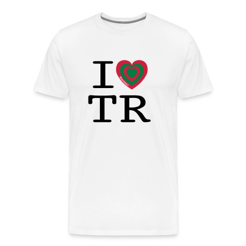 I love TR - Maglietta Premium da uomo