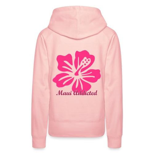 Pink Hibiscus  - Women's Premium Hoodie