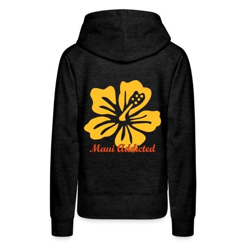 Yellow Hibiscus  - Women's Premium Hoodie