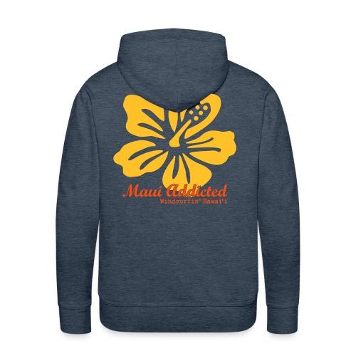 Yellow Hibiscus - Men's Premium Hoodie