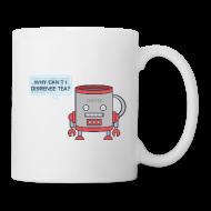 Mugs & Drinkware ~ Mug ~ Robot Tea Dispensing Coffee Mug Thing - Mug