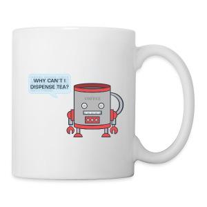 Robot Tea Dispensing Coffee Mug Thing - Mug - Mug