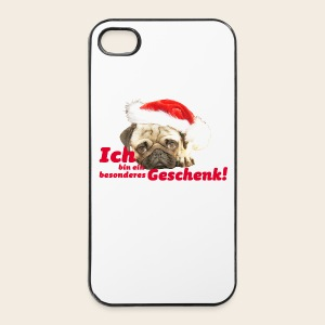 Mops Geschenk iPhone 4/4S Hard Case - iPhone 4/4s Hard Case