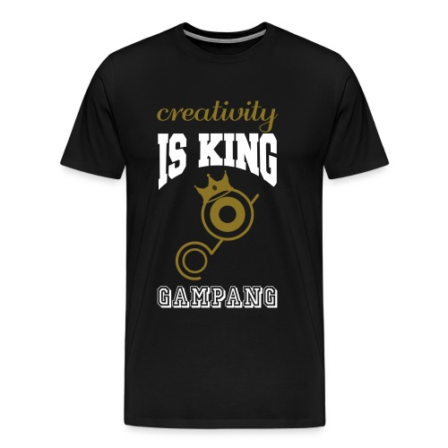 creativity is king - Men's Premium T-Shirt