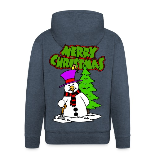 Veste à capuche homme merry christmas - Veste à capuche Premium Homme