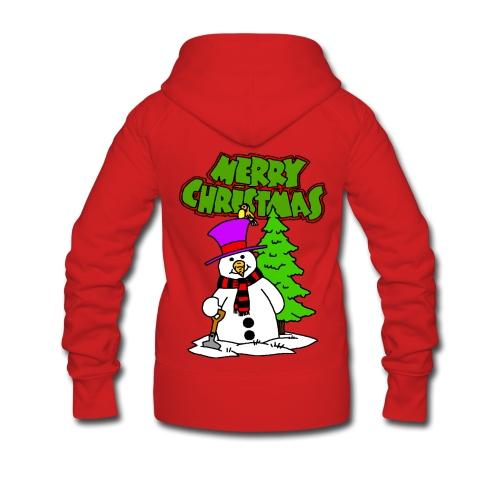 Veste à capuche femme merry christmas - Veste à capuche Premium Femme