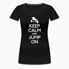 keep calm and jump on T-Shirts