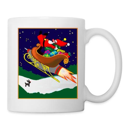 Rocket Santa - Tasse