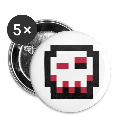 HZV 3D logo 5pack badge - Buttons small 25 mm