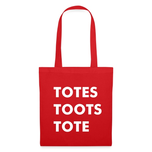 The Totes Toots Tote (red) - Tote Bag