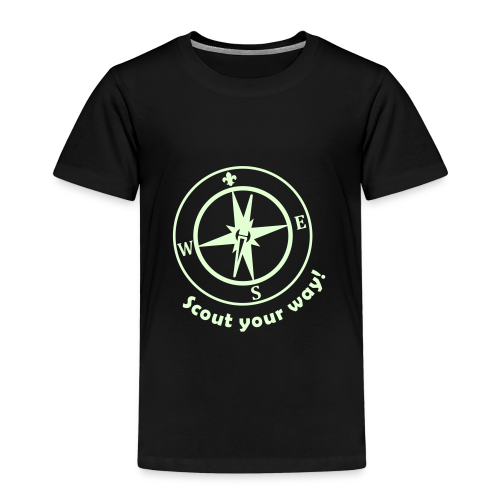 Scout your way - glowing - Kids' Premium T-Shirt