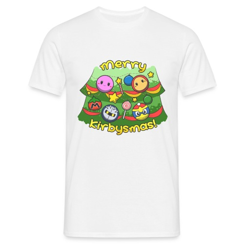Men's Merry Kirbysmas T-Shirt - Men's T-Shirt