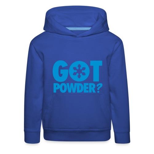 Got Powder - Kids' Premium Hoodie