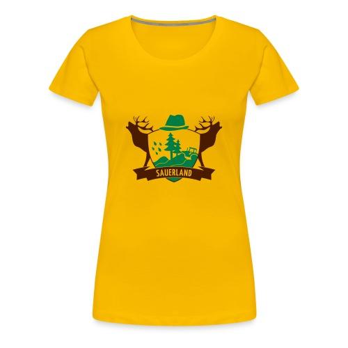 Sauerlandwappen - Frauen Premium T-Shirt