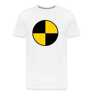 T-shirt Homme Qualité Cible Cobayes - T-shirt Premium Homme
