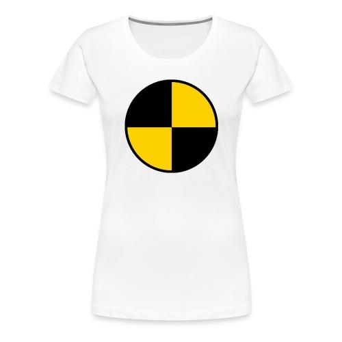 T-shirt Femme Qualité Cible Cobayes - T-shirt Premium Femme
