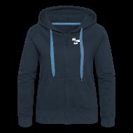 Pullover & Hoodies ~ Frauen Premium Kapuzenjacke ~ Mighty Moose Damen Kapuzenjacke
