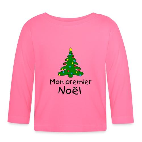 Premier Noel - T-shirt manches longues Bébé