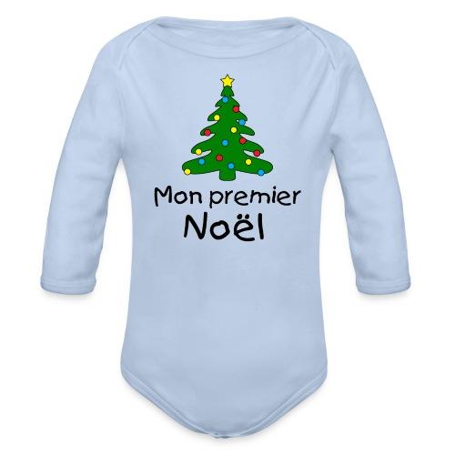 Premier Noel - Body bébé bio manches longues