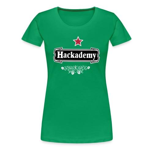 Hackademy Girlz - Women's Premium T-Shirt