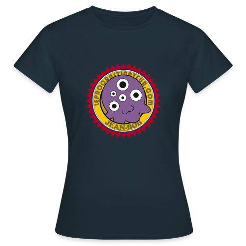 T-SHIRT FEMME - LOGO LE PROCRASTINATEUR - T-shirt Femme