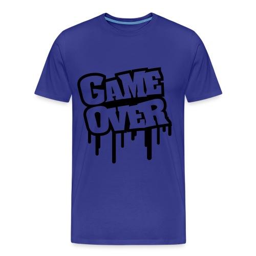 ''Game over'' shirt mannen - Mannen Premium T-shirt