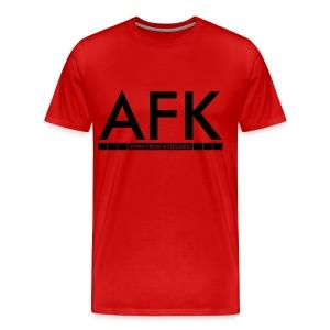 ''AFK'' shirt mannen - Mannen Premium T-shirt